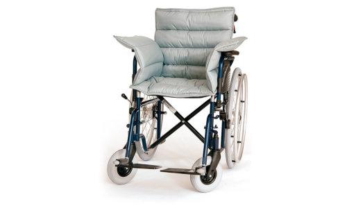 Rollstuhlauflage mit Rücken und Seitenteilen