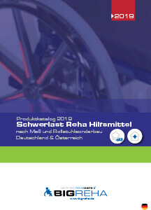 novacare Schwerlast Reha Hilfmittel Katalog BIGreha 2019