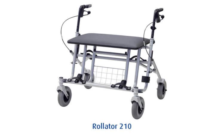 Schwerlast Rollator 210