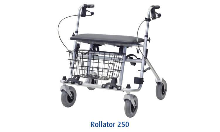 Schwerlast Rollator 250