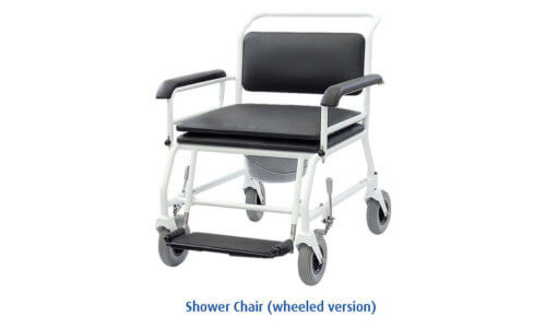 shower chair wheeled version