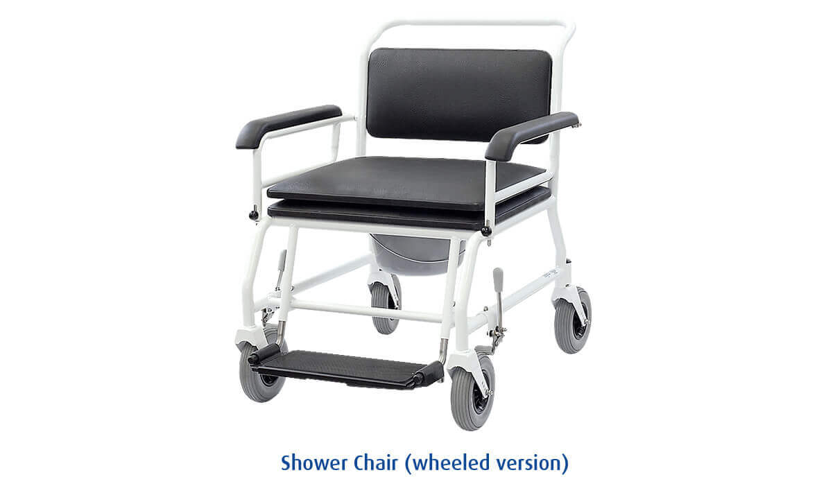 shower chair wheeled version