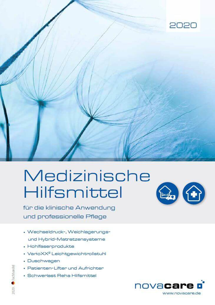 novacare Hilfsmittelkatalog deutsch 2020